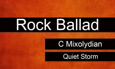 Ballad Rock Backing Track Jam in C Mixolydian