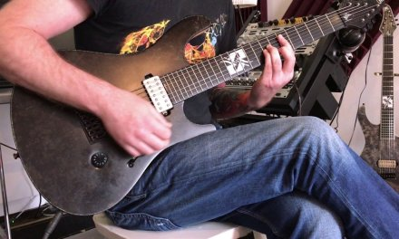 """Lesson – Guitar solo of Within Temptation's  """"The Truth Beneath The Rose"""""""