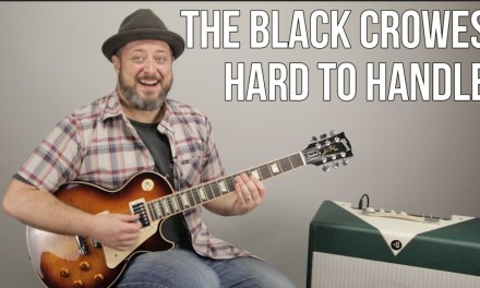 """How to Play """"Hard to Handle"""" by The Black Crowes on Guitar – Guitar Lesson"""