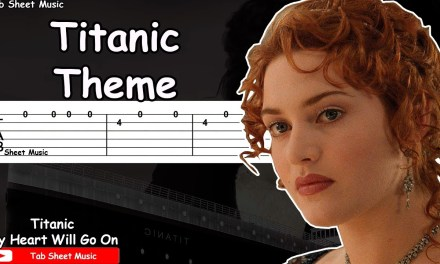 Titanic Theme – My Heart Will Go On Guitar Tutorial