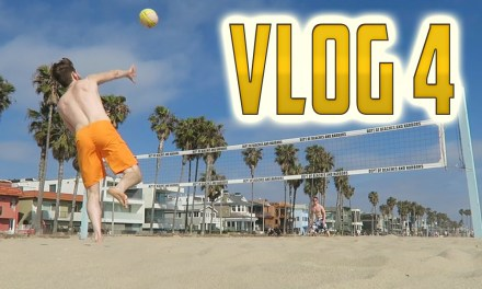 Vlog 4: Volleyball Skillz & Was Terroriser Naked for #AskMini? (Behind the Scenes)