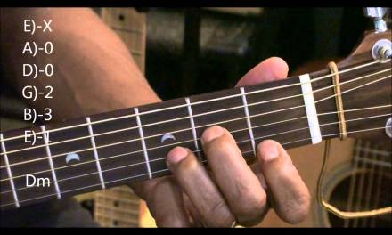 Guitar Chord Form TABS Tutorial #231 Lesson Calvin Harris Ellie Goulding Style EricBlackmonMusicHD