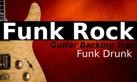 Funk Backing Track Jam for Guitar in Cm