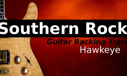 Southern Rock Backing Track Jam in Dm