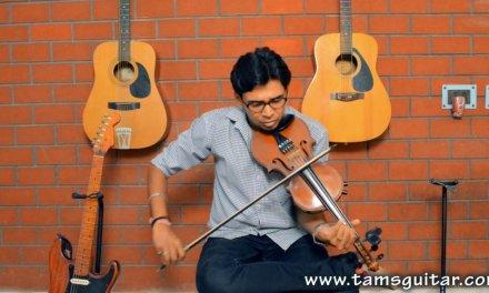 Sarfaroshi ki tamanna on violin – Indian Classical Violin lessons at Music Circle