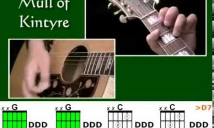 How to play Mull Of Kintyre by Paul McCartney – Best Beginner Guitar Lessons