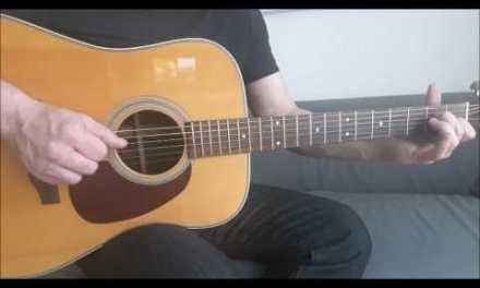 Police – Message in a Bottle – Acoustic Guitar Cover Fingerstyle