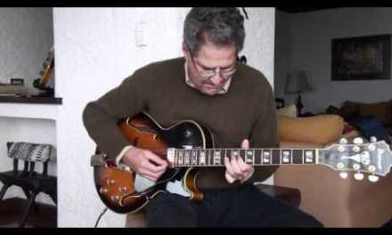 Cantaloupe Island Jazz Guitar