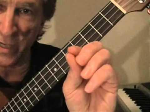 Blues Ukulele Jazz Chords Lesson 2.wmv