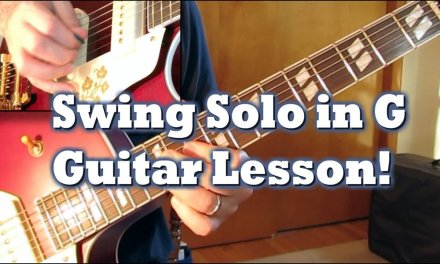 Swing Solo in G: Guitar Lesson