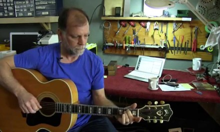 Cambridge Guitar shop owners repair Guitars for Charity.