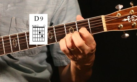 D9 Chord Guitar Lesson Short Version
