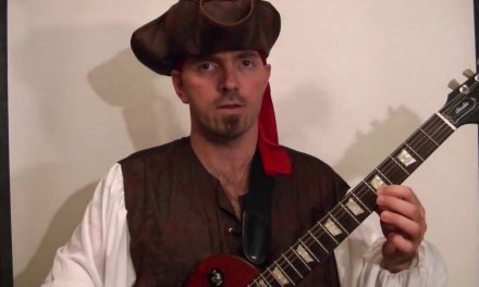 PIRATES OF THE CARIBBEAN – Guitar Lesson – He's a Pirate