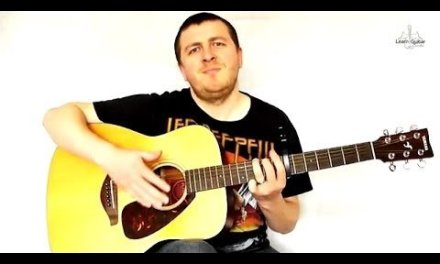 America – Guitar Lesson – Razorlight – Intro – Drue James