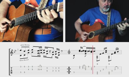 Super Mario Bros. Theme – TABS preview – fngerstyle guitar – Igor Presnyakov