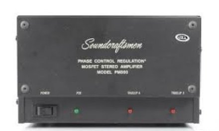 Soundcraftsmen PM 860 MOSFET Power Amplifier Repair and Restore