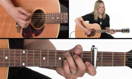 Acoustic Rock Rhythm Guitar Lesson – Disco Performance – Angus Clark