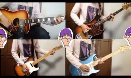 """Radiohead """"Paranoid android"""" – guitar cover"""