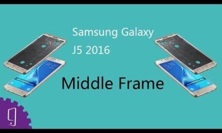 Samsung Galaxy J5 2016 Middle Frame Repair Guide