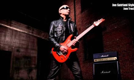 Joe Satriani Style / Key: E (Jam Track)