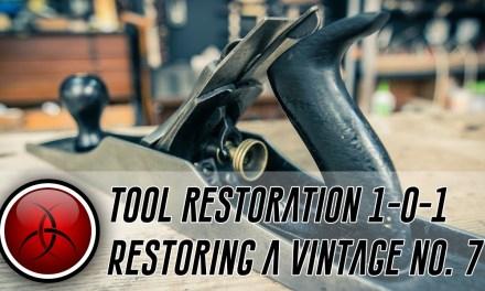 Repairing a Vintage Handplane