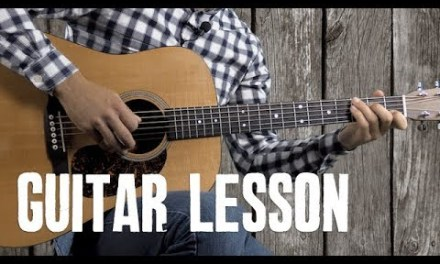 """Bury Me Beneath the Willow"" Instrumental – Guitar Lesson"