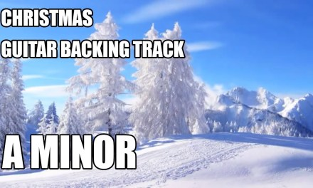 Christmas Guitar Backing Track In A Minor
