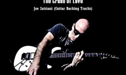 Joe Satriani – The Crush Of Love (Backing Track)