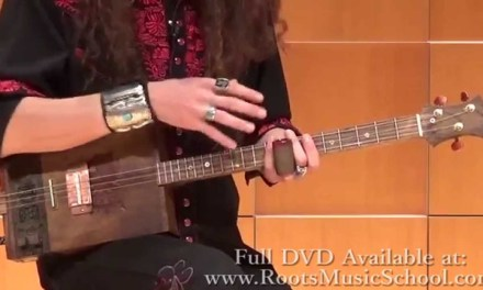 How to Play Mississippi Hill Country Blues on the 3-String Guitar