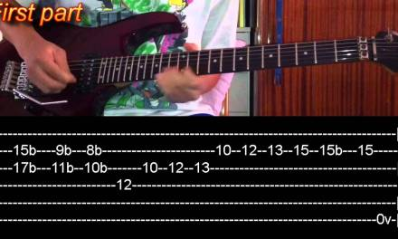 Bat Country Solo Guitar Lesson – Avenged Sevenfold(with tabs)