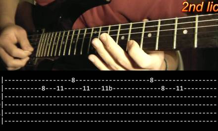 Smoke On The Water Guitar Solo Lesson – Deep Purple (with tabs)