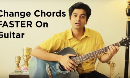 How To Change Chords FASTER On Guitar | Shantanu Arora | Guitar Lesson