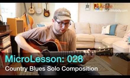 Country Blues Guitar Lesson – ML028