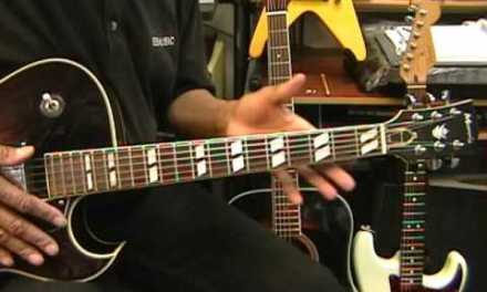 Can A Jazz Guitar Solo Be Played On One Fret? YES! EricBlackmonGuitar