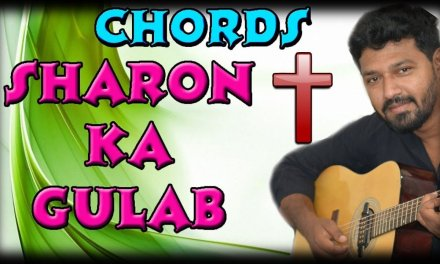 Sharon ka Gulab || Guitar Lesson || Hindi Christian Song
