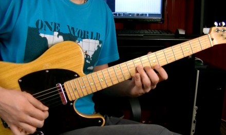 Jazz/Fusion Guitar Lick in Am