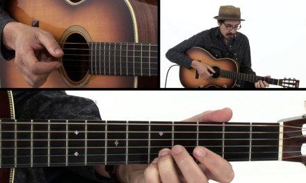 Beginner Fingerstyle Blues Lick #11 – Guitar Lesson – David Hamburger
