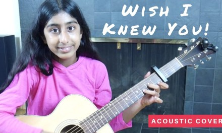 Wish I Knew You (The Revivalists) – Guitar Cover – Acoustic