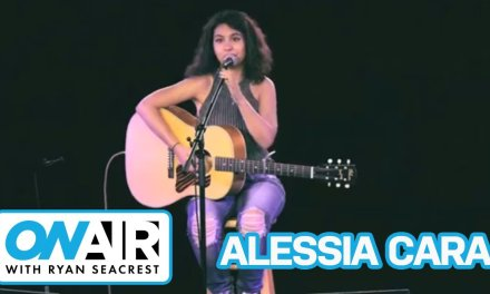 """Alessia Cara """"Here"""" Acoustic 