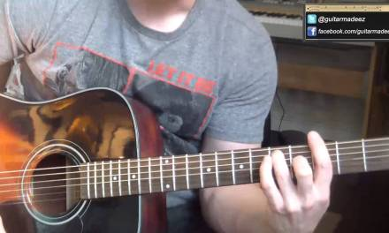 Jack Johnson – Banana Pancakes – Guitar Tutorial (EXTREMELY EASY TOLEARN IN ALMOST NO TIME!))