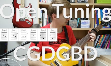 Open Tunings – Alternate Tunings – CGDGBD for Guitar