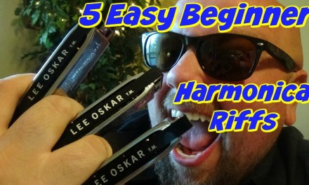 5 Easy Blues Harmonica Riffs | Key of G Lesson | Beginner Harp Course
