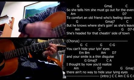 Lyin' Eyes Guitar Lesson + Karaoke