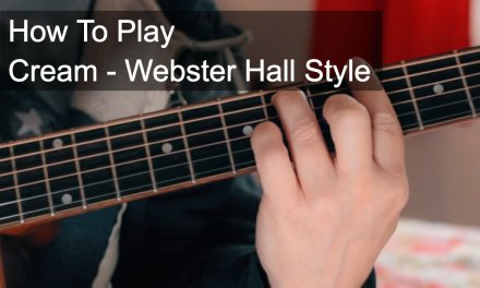Cream – Live at Webster Hall Style – Prince Guitar Tutorial