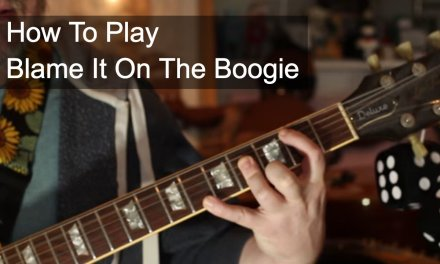 Blame it on the Boogie Guitar Tutorial