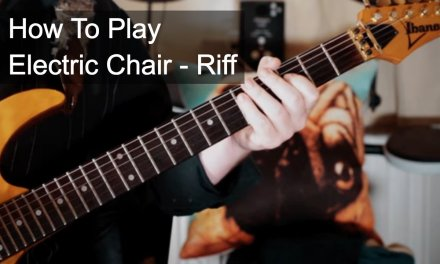 'Electric Chair' Riff – Prince Guitar Lesson