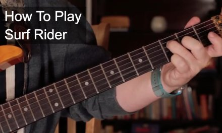 'Surf Rider' The Lively Ones – Surf Guitar Lesson