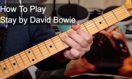 'Stay' David Bowie Guitar Lesson
