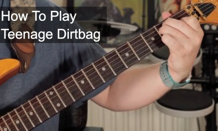 'Teenage Dirtbag' Wheatus Guitar Tutorial