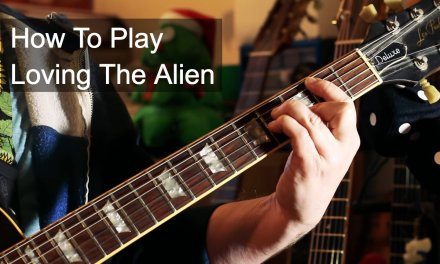 Loving the Alien for Solo Guitar – David Bowie Tutorial